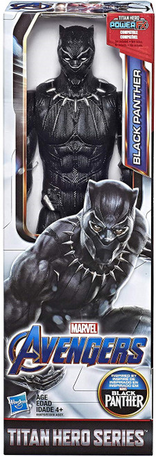 Marvel Avengers Endgame Titan Hero Series Black Panther Action Figure