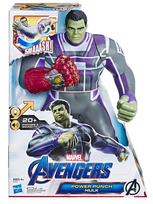 Marvel Avengers Endgame Power Punch Hulk Action Figure
