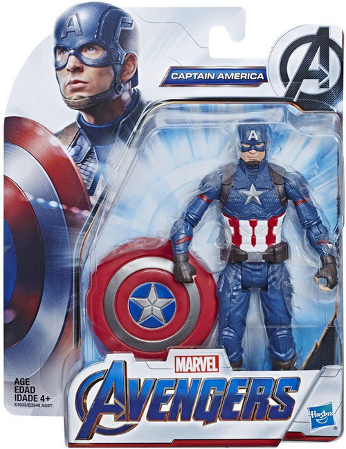 Marvel Avengers Endgame Captain America Action Figure