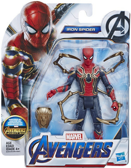 Marvel Avengers Endgame Iron Spider Action Figure