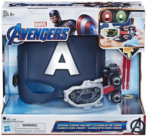 Marvel Avengers Endgame Captain America's Scope Vision Helmet Roleplay Toy