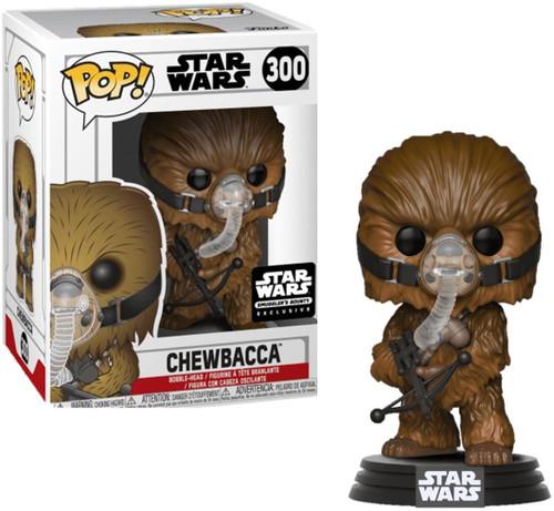 Funko POP! Star Wars Chewbacca Exclusive Vinyl Bobble Head #300 [Exogorth, Wookie Theme]