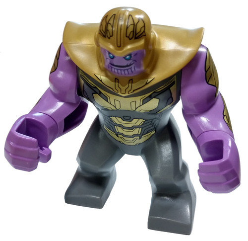 LEGO Marvel Super Heroes Avengers Endgame Thanos Minifigure [Big Figure Loose]