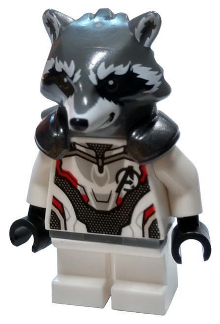 LEGO Marvel Super Heroes Avengers Endgame Rocket Raccoon Minifigure [Loose]