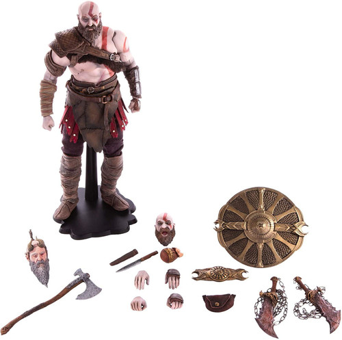 God of War Kratos Deluxe Action Figure