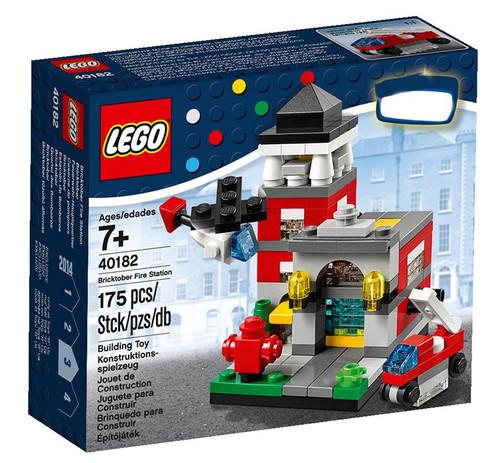 LEGO Bricktober 2014 Bricktober Fire Station Exclusive Set #40182 [Damaged Package]