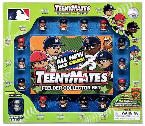 MLB TeenyMates Fielder Collector Set