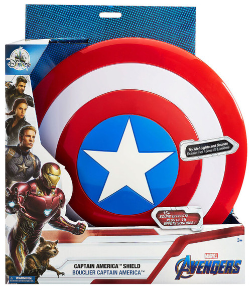 Disney Marvel Avengers Captain America Shield Exclusive Roleplay Toy