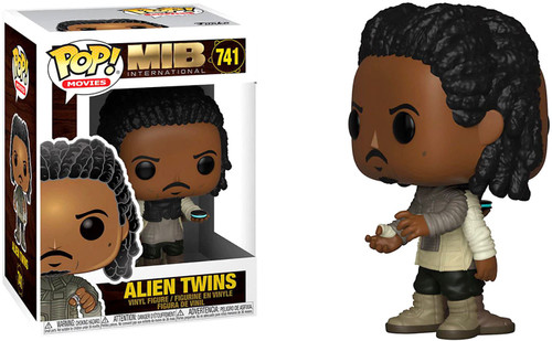 Funko Men in Black International POP! Movies Alien Twins Vinyl Figure #739 [Two-Sided]