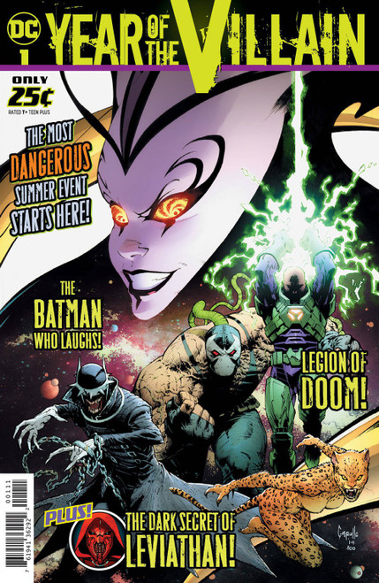 DC Year of the Villain #1 Comic Book