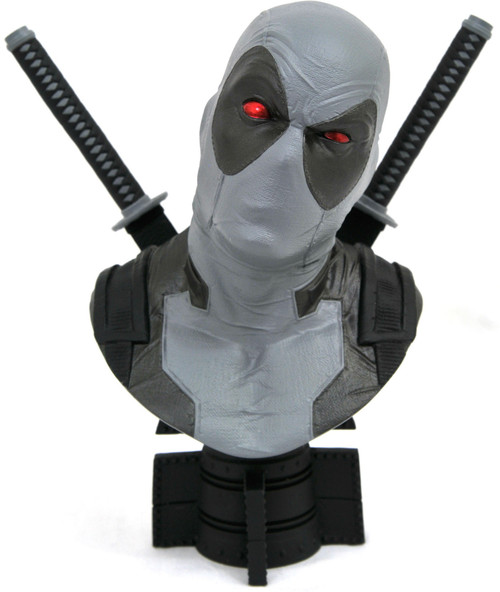 Marvel Legendary Comic Deadpool (X-Force Costume) Exclusive Half-Scale Bust [1/2 Scale]