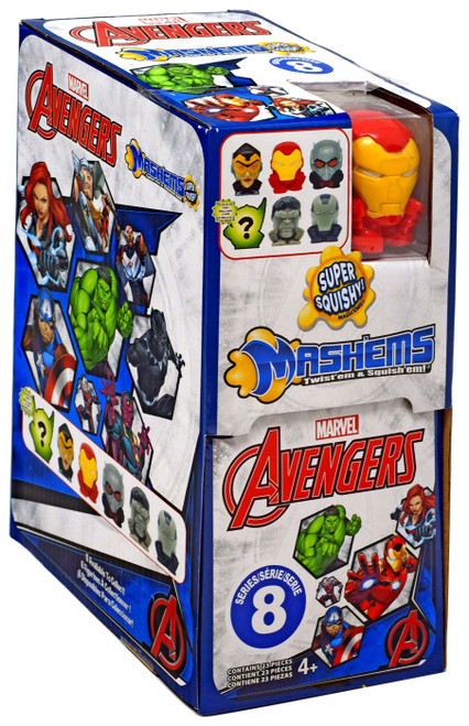 Marvel Mash'Ems Series 8 Avengers Mystery Box [23 Packs]