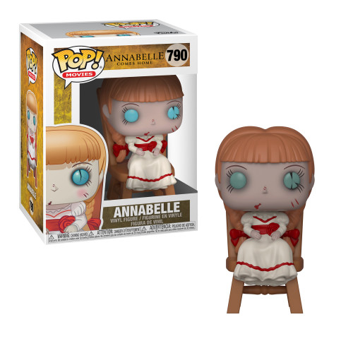 Funko POP! Movies Annabelle Vinyl Figure #790 [Sitting on Chair]