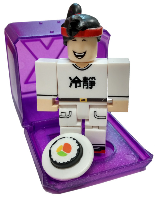Roblox Celebrity Collection Series 3 Restaurant Tycoon: Sushi Chef 3-Inch Mini Figure [with Cube and Online Code Loose]