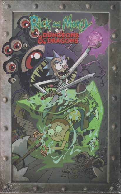 IDW Rick & Morty Vs. Dungeons & Dragons Issues 1-4 Box Set