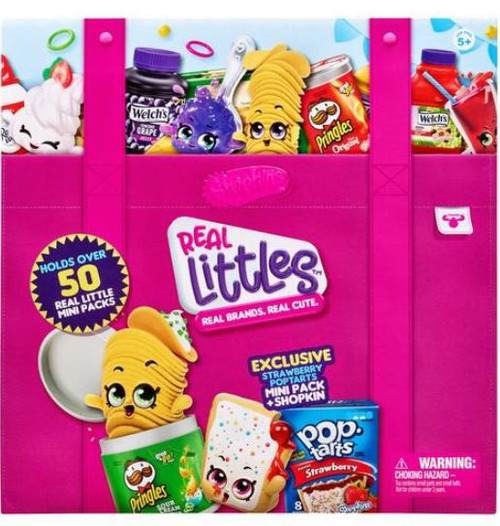 Shopkins Real Littles Season 12 Collectors Case [Holds Over 50 Real Little Mini Packs!]
