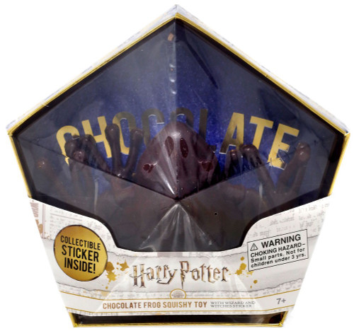 Harry Potter Chocolate Frog Squeeze Toy