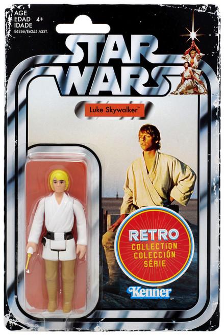 Star Wars A New Hope Retro Collection Luke Skywalker Action Figure