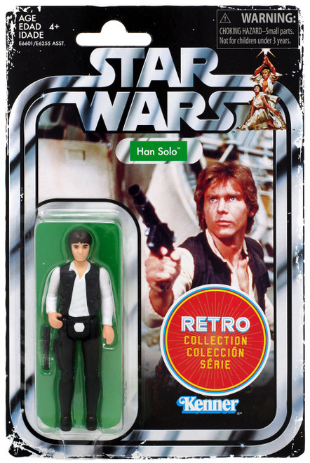 Star Wars A New Hope Retro Collection Han Solo Action Figure