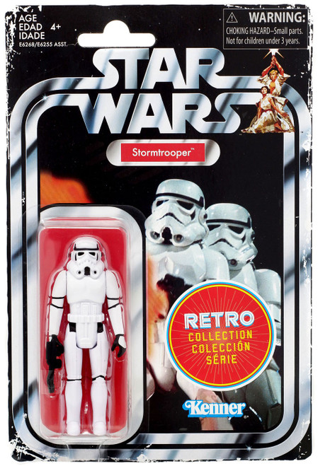 Star Wars A New Hope Retro Collection Stormtrooper Action Figure