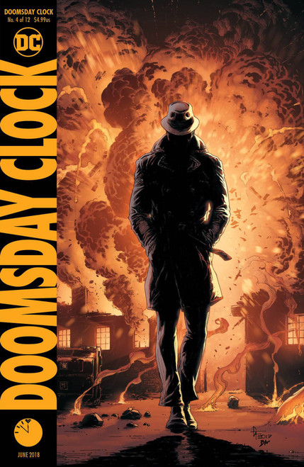 DC Doomsday Clock #4 Comic Book [Gary Frank Variant Cover]
