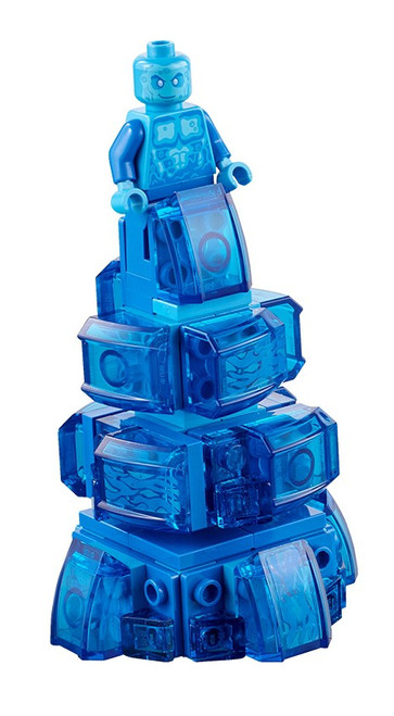 LEGO Marvel Super Heroes Spider-Man Far From Home Hydro-Man Minifigure [with Water Base Loose]