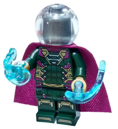 LEGO Marvel Super Heroes Spider-Man Far From Home Mysterio Minifigure [Loose]