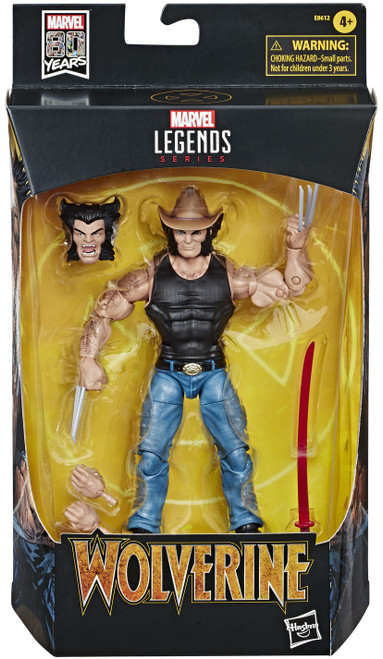 Marvel Legends 80th Anniversary Cowboy Logan Action Figure [Comic, Wolverine]