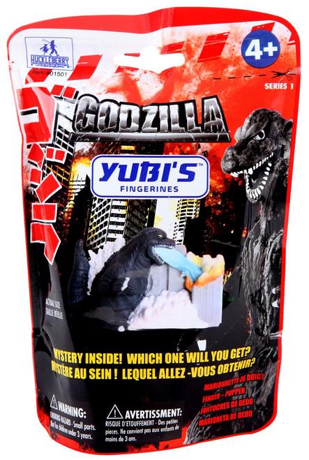 Yubi's Figurines Finger Puppets Series 1 Godzilla Mystery Pack