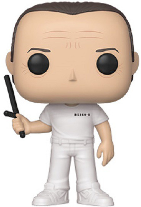 Funko Silence of the Lambs POP! Movies Hannibal Lecter Vinyl Figure [Clean, Holding Billy Club]