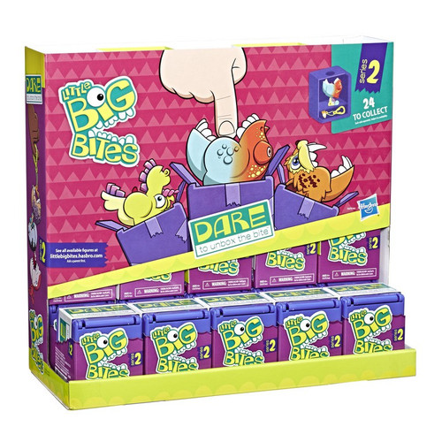 FurReal Little Big Bites Series 2 Mystery Box [Wave 2, Purple, 24 Packs]