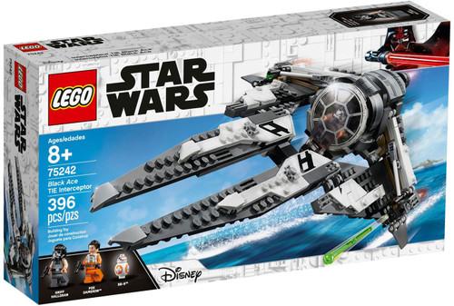 LEGO Star Wars Black Ace TIE Interceptor Set #75242