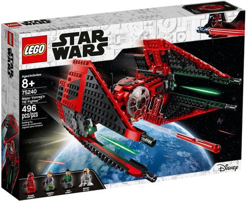 LEGO Star Wars Major Vonreg's TIE Fighter Set #75240