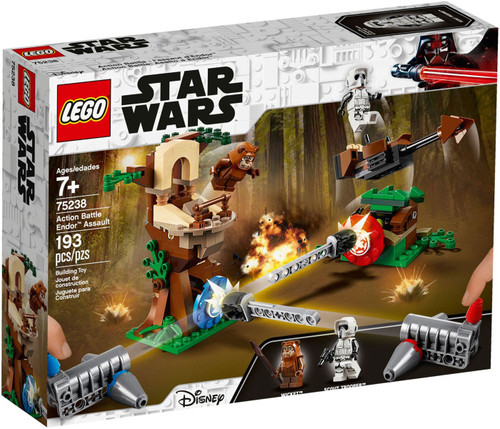 LEGO Star Wars Action Battle Endor Assault Set #75238