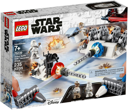 LEGO Star Wars Action Battle Hoth Generator Attack Set #75239