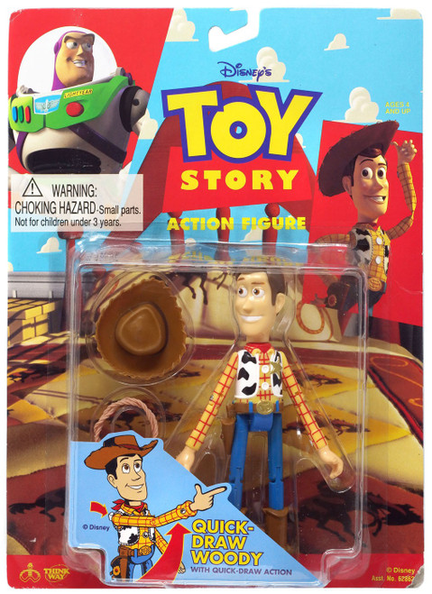 Toy Story Quick Draw Woody Action Figure [with Quick Draw Action]