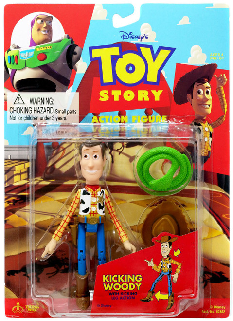 Toy Story Kicking Woody Action Figure [with Kicking Leg Action]