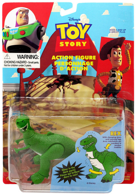 Toy Story Rex Action Figure [with Clamping Jaws & Moving Legs]