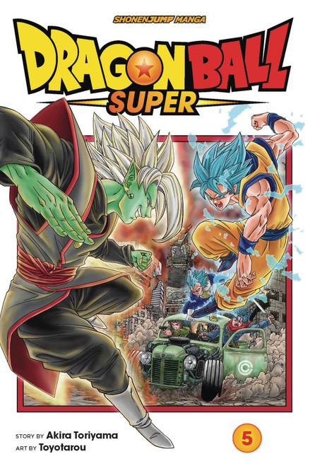 Viz Media Dragon Ball Super Volume 5 Manga Trade Paperback