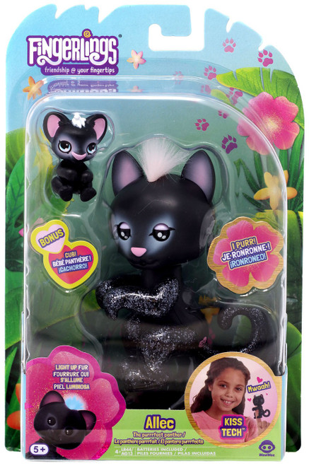 Fingerlings The Purrrfect Panther Allec Figure [Lights Up!]