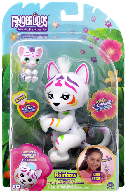 Fingerlings The Purrrfect Tiger Rainbow Figure