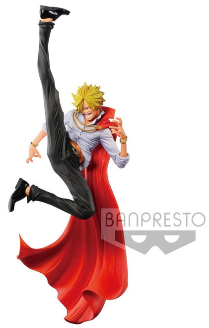 One Piece World Figure Colosseum 2 Sanji 5-Inch Collectible PVC Figure