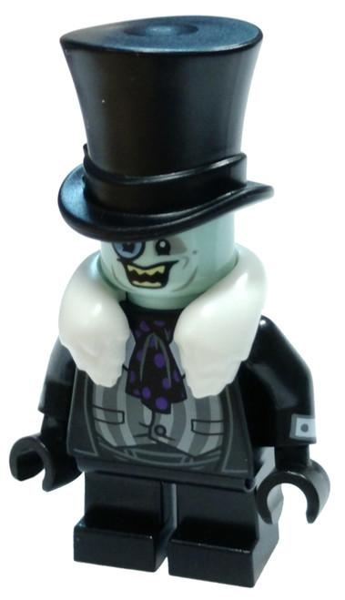 DC Universe Super Heroes The LEGO Batman Movie The Penguin Minifigure [White Fur Collar Loose]