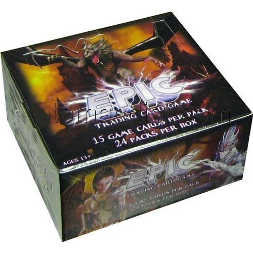 Trading Card Game Epic Battles Booster Box [24 Packs]