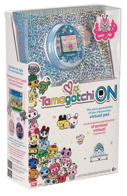 Tamagotchi On 1.5-Inch Virtual Pet Toy [Fairy Blue]