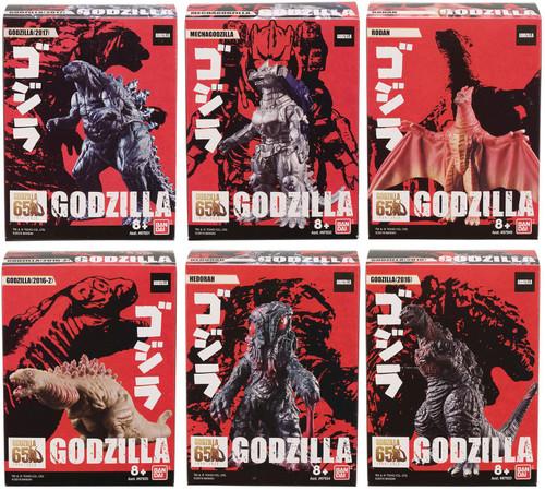 Godzilla Assortment A 3.5-Inch Mini Vinyl Figures Box [10 Packs]
