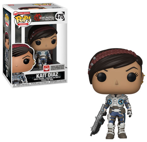 QUEEN MYRRAH #476 Gears of War S3 Vinyl Figure Games Funko POP New in Box