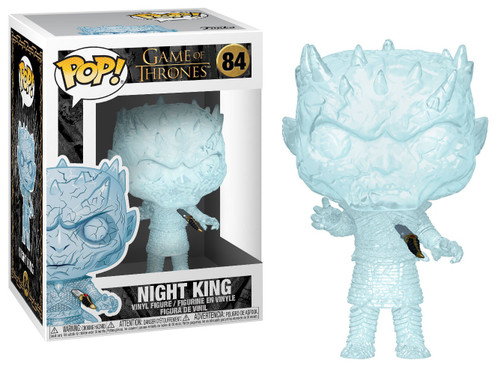 Funko Game of Thrones POP! TV Crystal Night King Vinyl Figure [Dagger in Chest]