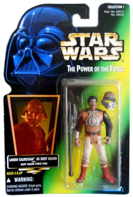 Star Wars Return of the Jedi Power of the Force POTF2 Collection 1 Lando Calrissian as Skiff Guard Action Figure [Hologram Card]