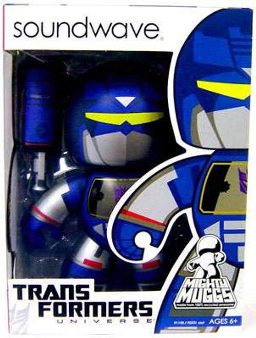 Transformers Universe Mighty Muggs Series 1 Soundwave Vinyl Figure